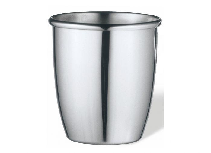 Silber Becher Taufbecher glatt schlicht Höhe 6,5 cm
