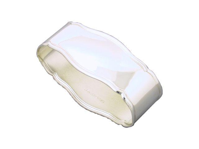 Silber Serviettenring Seckenrand