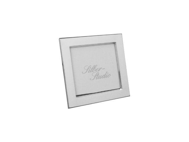Silberrahmen quadratisch 9x9 cm