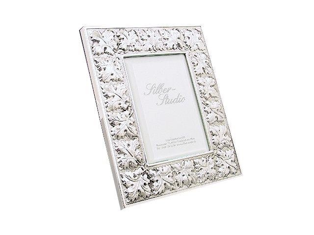 Silber Bilderrahmen Blätter 9x13 cm