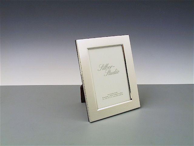 Silberrahmen glatt 9x13 cm