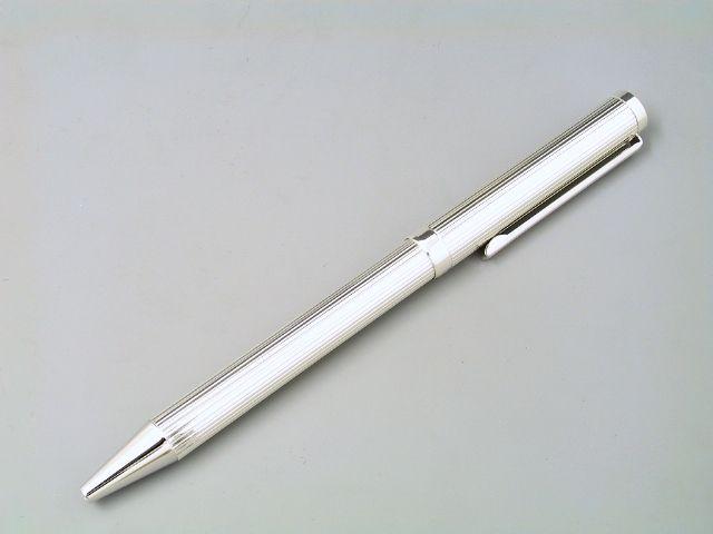Silber Kugelschreiber+Bleistift Fadenguilloche