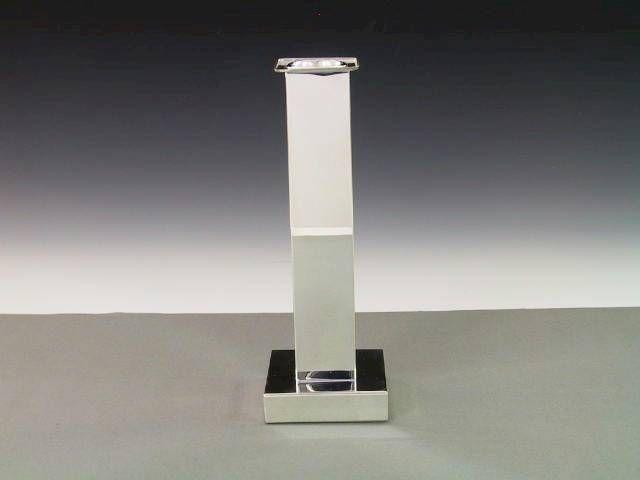 Silber Leuchter modern