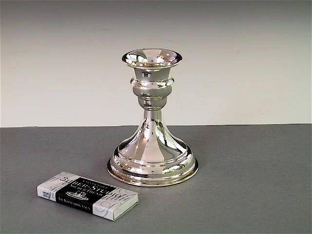 Silber Kerzenleuchter klein schlicht