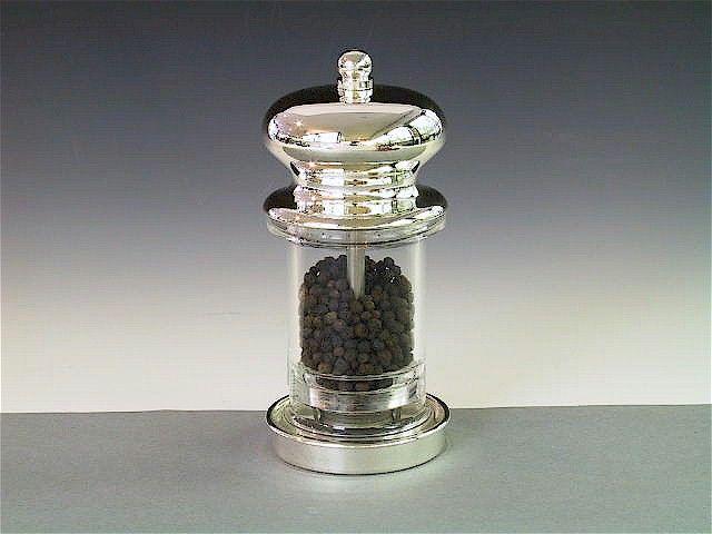 Pfeffermühle Silber
