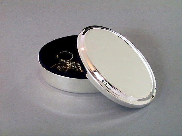 Schmuckdose oval