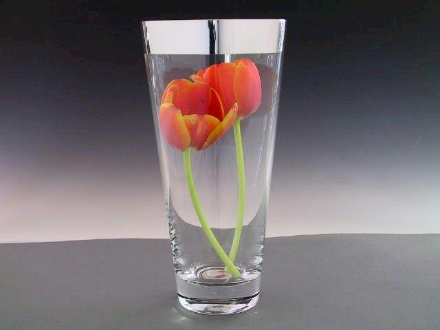 Vasen konisch Kristall