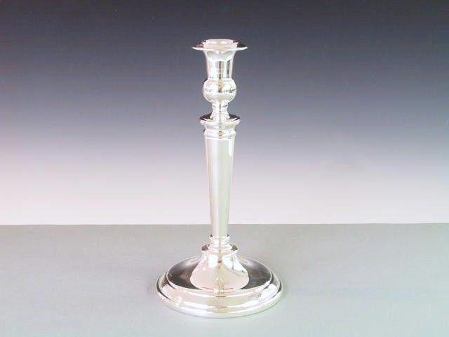 Silber Kerzenleuchter konisch 21,5 cm