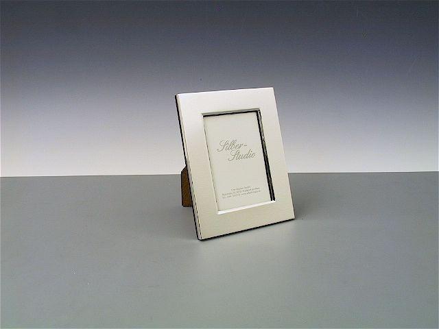 Silberrahmen glatt 6x9 cm