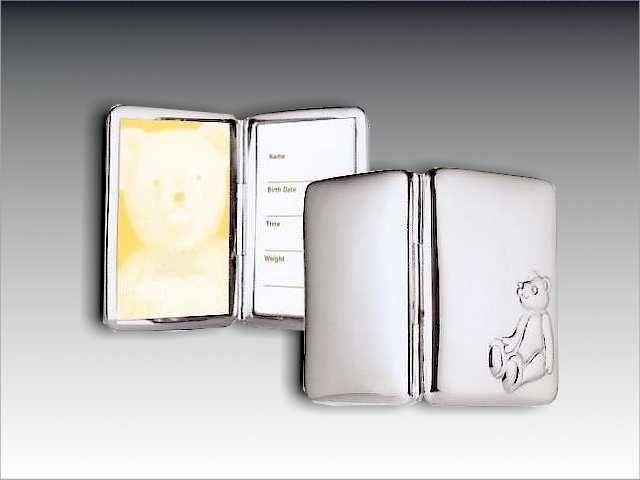 Silber Klapprähmchen 5 x 3,5 für die Tasche