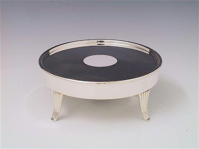 Silberwaren Stövchen Art Deco