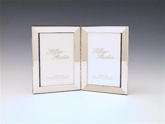 Doppelrahmen Silber 9x13 cm