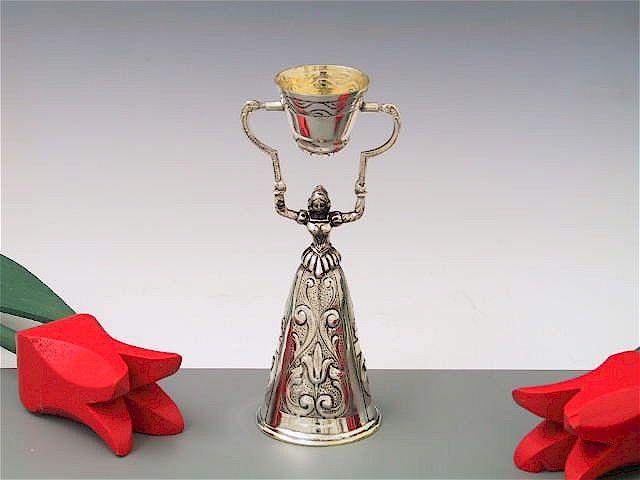 Silber Hochzeitsbecher  Brautbecher 12 cm