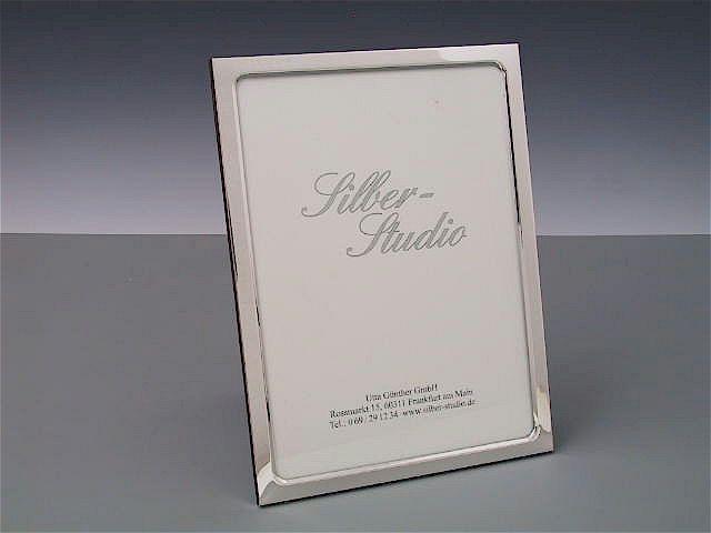 Silberrahmen schmal 13x18 cm