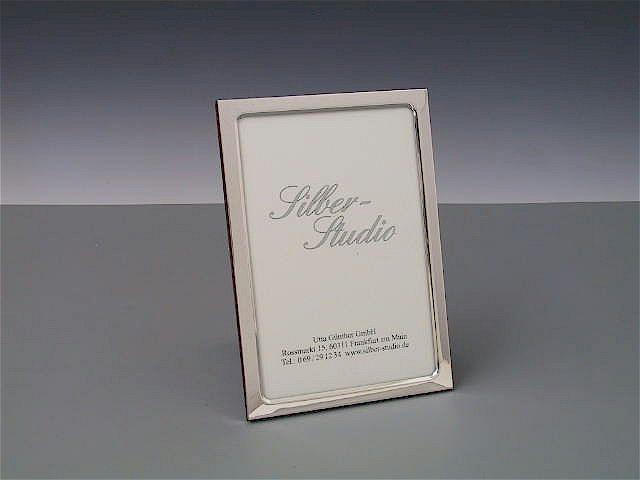 Silberrahmen schmal 10x15 cm