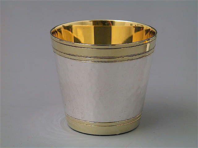 Silber Schnapsbecher