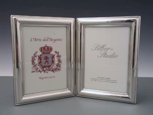 Silber Doppelrahmen 9x13 cm