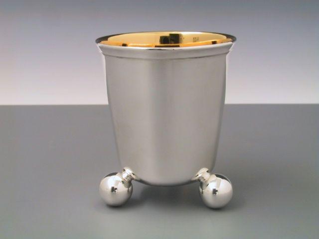 Silber Kugelbecher