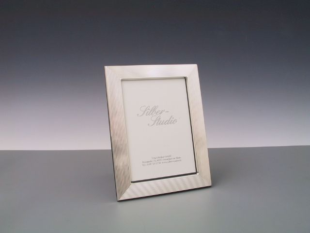 Silberrahmen guilloch 9x13 cm