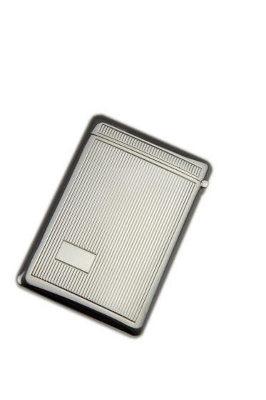 Silber Visitenkartenetui Faden