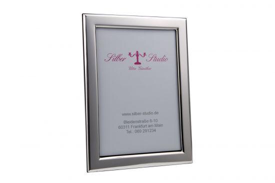 Silberrahmen glatt 13x18 cm