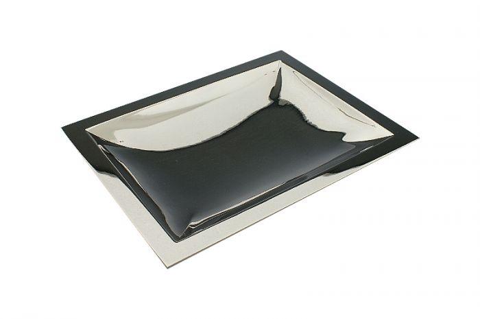 Silberschale rechteckig 26,5x20,5 cm