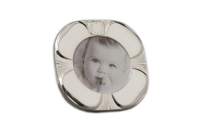 Geburtsrahmen Taufrahmen Sterling-Silber (925/000) 57x57 mm