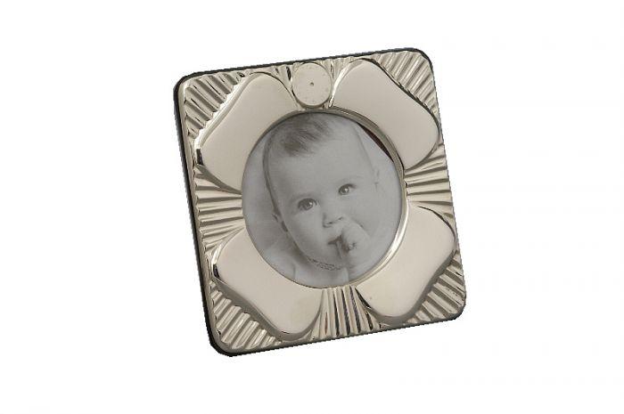 Geburtsrahmen Taufrahmen Sterling-Silber (925/000) 6,4 cm Bildau