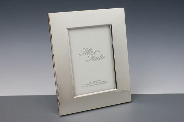 Silber Bilderrahmen breit 9x13 cm