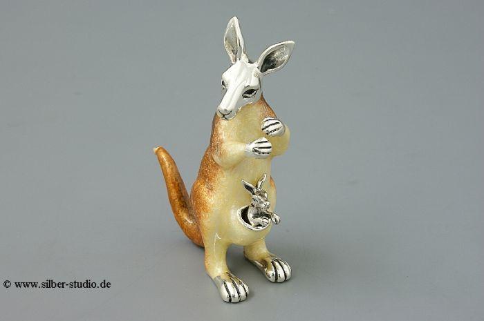 Silber Känguru groß