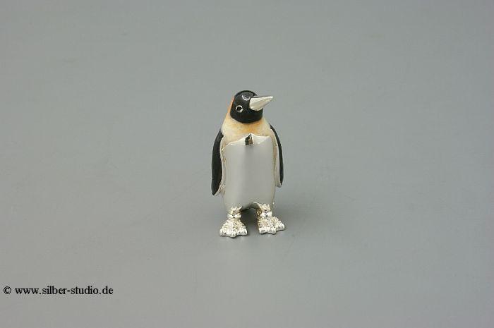Silber Pinguin klein