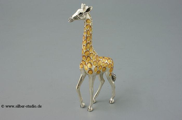 Silber Giraffe groß