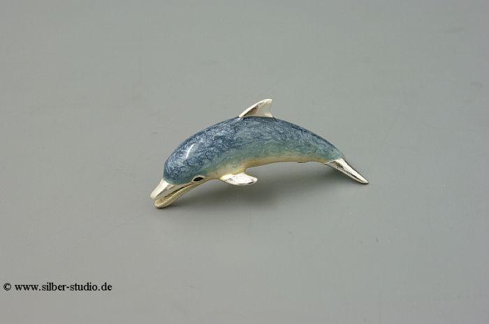 Silber Delfin klein