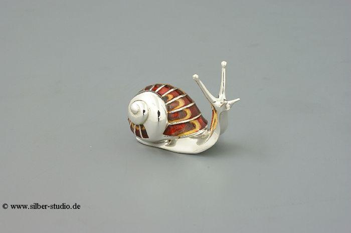 Silber Schnecke mittlere Größe