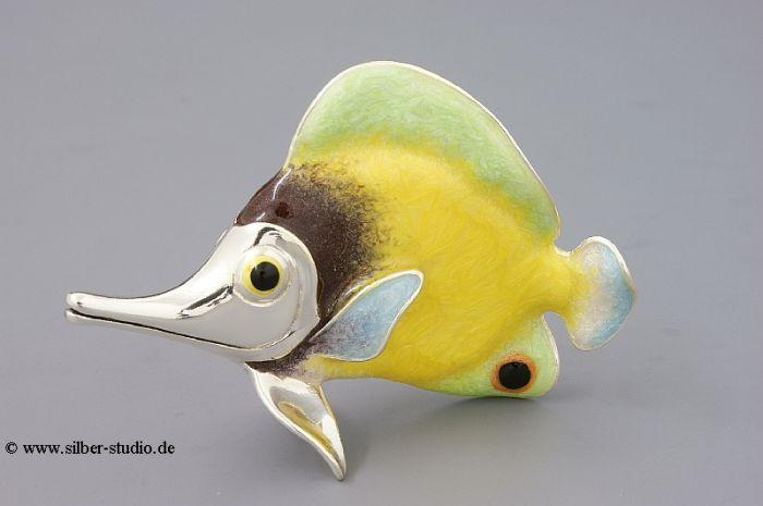 Silber Tropenfisch groß