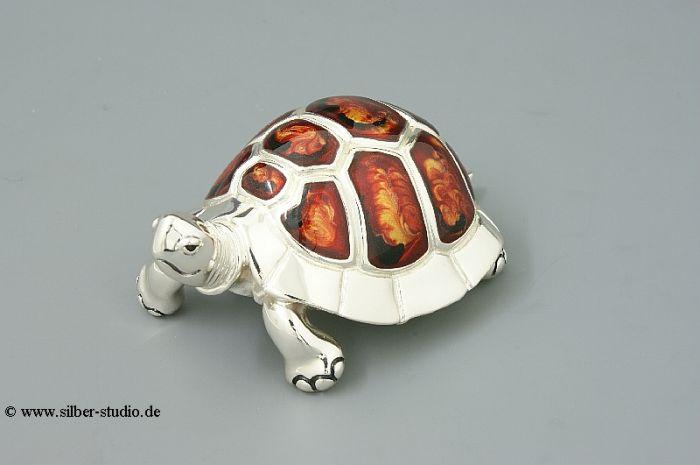 Silber Schildkröte groß