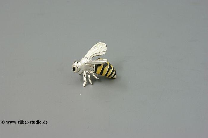 Silber Biene klein