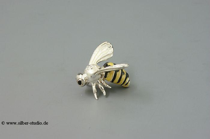Silber Biene mittlere Größe