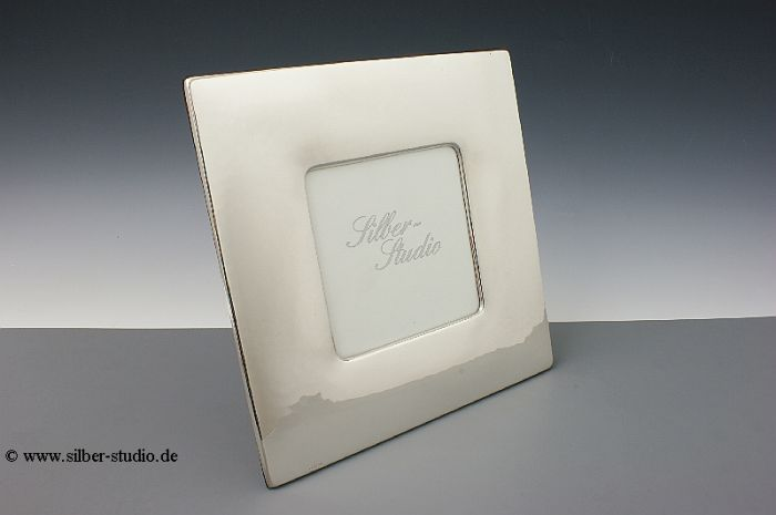 Silber Bilderrahmen breit 13x13 cm