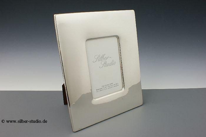Silber Bilderrahmen breit 10x15 cm