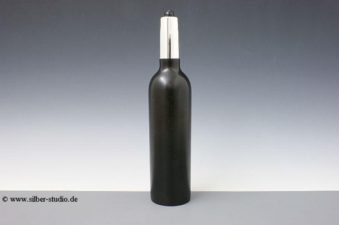Silber Pfeffermühle Flaschenform St. Emilion