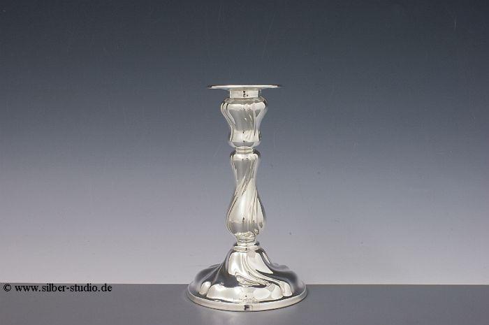 Silberleuchter Barock 15 cm