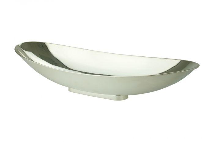 Sterling-Silber Schale oval 34 cm