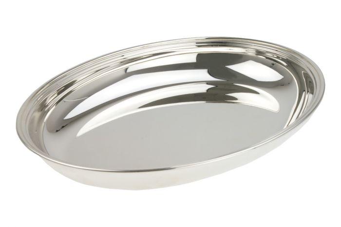 Silber Brotschale  21x28 cm