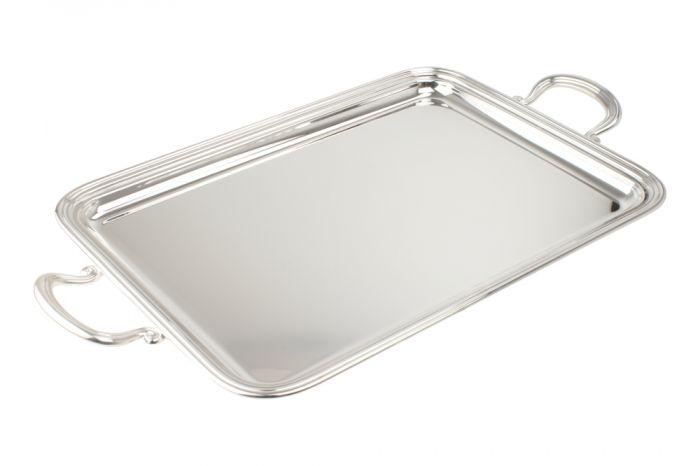 Tablett rechteckig Griffe 41x30 cm