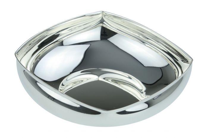 Silberschale quadratisch 20x20 cm