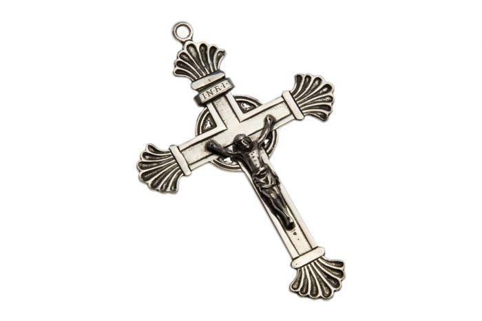 Silber Taufkreuz Kruzifix