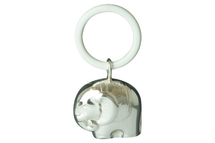 Beißring Elefant Sterling-Silber