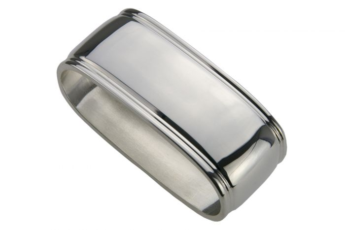 Serviettenring Sterling-Silber Fadenrand schwer