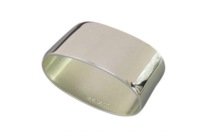 Silber Serviettenring glatt